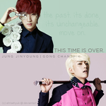 jinyoung gongchan - this time is over. by AllRiseHyuk