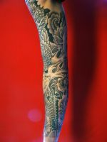 Right Arm Tattoo 1 by Theimon