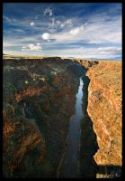 Rio Grande Gorge by ChimpyJay