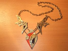 Faerie Wings Necklace by Galuorwen