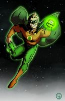 Green Lantern by AndrewKwan