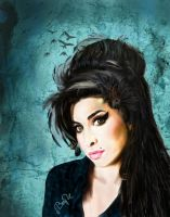 Hommage to Amy Winehouse by MissB-Haviour