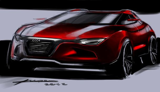 audi crossover by Chrupson