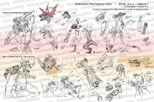 Digimon Reformation - 2012 July Issue 1 by Vinsuality