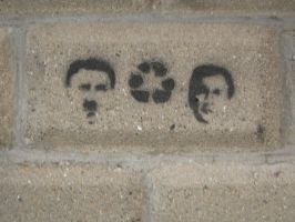 Hitler Recycle Bush by inspirational-dreams