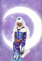Yue the Moon by cityoffog
