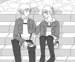 Annie and Armin by hexsy