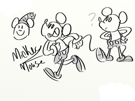 Mickey Mouse 2 by cartoonwho