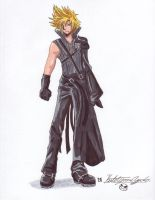 FF7: Cloud Strife +Commissh+ by Metalbeast114