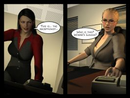 Penelope - Working Late 10 by Torqual3D