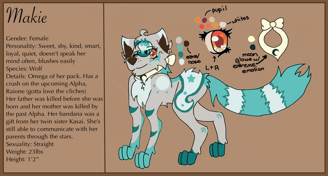 Makie (Wolf) Updated Ref by wolflover4lyfe