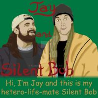 Jay and Silent Bob CaseMate contest entry by AJBurnsArt