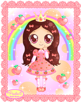 Lolita Princess-Peachie Chibi by Princess-Peachie