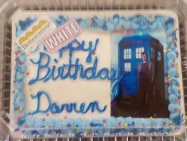 Doctor Who Cake by BrigadierDarman