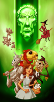 Doctor Who and Wizard of OZ mashup by pungang