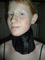 Home made neck Corset. by Seras-Loves-Master