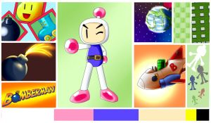 Bomberman MoodBoard by SailorBomber