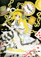 . Alice in Wonderland . by Yumi---Chan