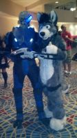 Dusty and Garrus Dcon 2011 by videogamer500