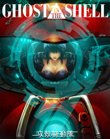 Ghost in the shell fanart by Darkdux