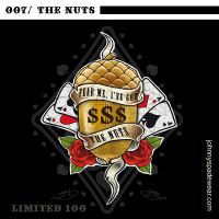 007/ THE NUTS TSHIRT by johnnyspadewear