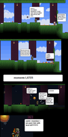Terraria: Killing The Old Man by Snabbledoo