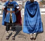 Front and back view - Marth cosplay by Aedes-cosplay