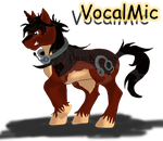 VocalMic Full Body by DracKeagan