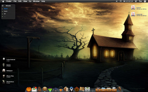 Halloween Desktop 2010 by B4lth4s4R