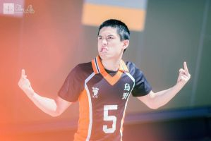 Haikyu Tanaka - COME ON CITY BOY by AmenoKitarou