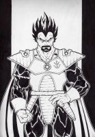 King Vegeta by Kid-Destructo