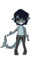 Sharkboy Adopt (closed!) by Ruruca