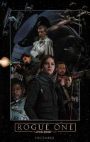 Rogue One: A Star Wars Story poster by DComp