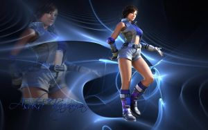 Tekken Asuka Kazama Wallpaper by LillyGamer