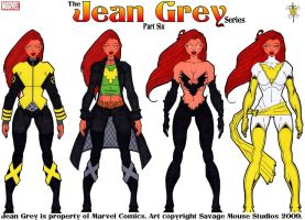 Jean Grey Series: Part Six by SavageMouse