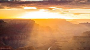 Grand Canyon Sunset by hreents