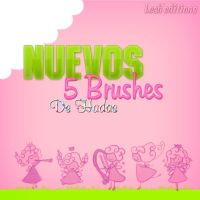 Nuevos 5 Brushes de hadas by LeahEditiions