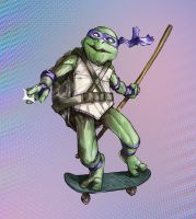 Donatello - does machines? by facelesscow