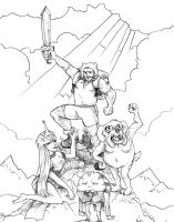 Adventure Time Epicness by Studion8