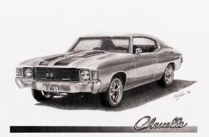 72 Chevelle scan by Graphiticus