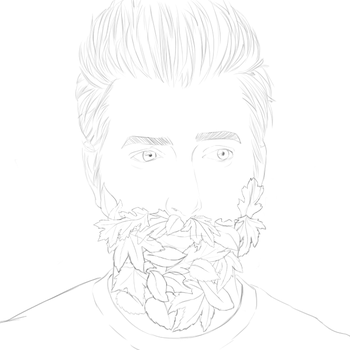 Leaf beard by Maverick-Maven