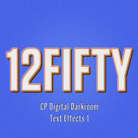 12FIFTY Layered Text Effect Freebie by CPDigitalDarkroom
