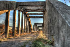Walk on the old bridge - HDR by yoctox