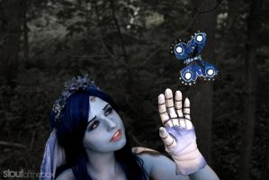 Moonlight Corpse Bride Butterfly by Elentari-Liv