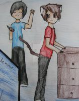 Hello Kitty- Phan drawing by Fizzy-foxx