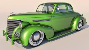 1939 Chevrolet Coupe by SamCurry