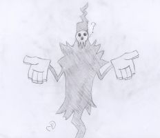Lord Death is Confused by Cogs-Fixmore