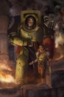 Imperial Fist and Chem Dog by matthewmcentire