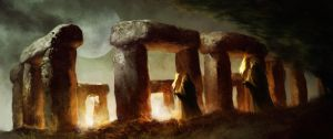 Moonstone redesign: Stonehenge by bumhand