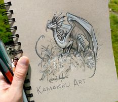Smaugust day 10 by Kamakru